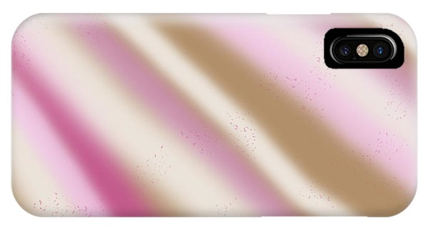 Iced Coffee Stripes IPhone Case