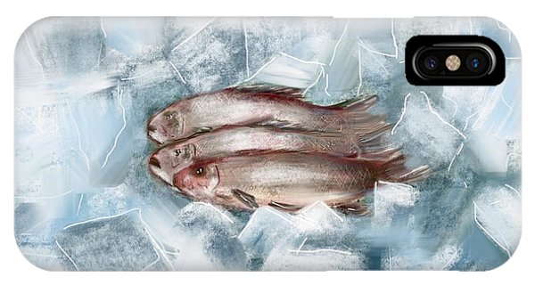 Iced Fish IPhone Case