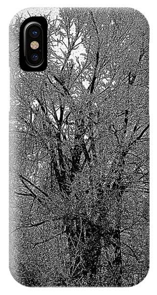 Iced Tree IPhone Case