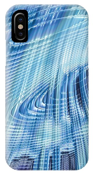 Fall Colors iPhone Case - Icefall by John Edwards