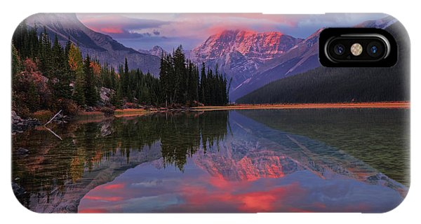 Icefields Parkway Autumn Morning IPhone Case