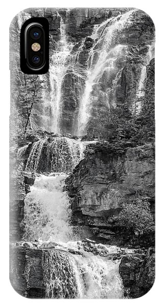 Icefields Waterfall IPhone Case