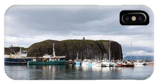 Iceland Fisherman Harbor IPhone Case