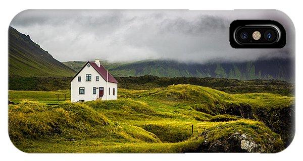 Iceland Scene IPhone Case