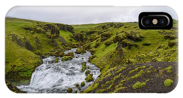 Icelandic Waterfall IPhone Case