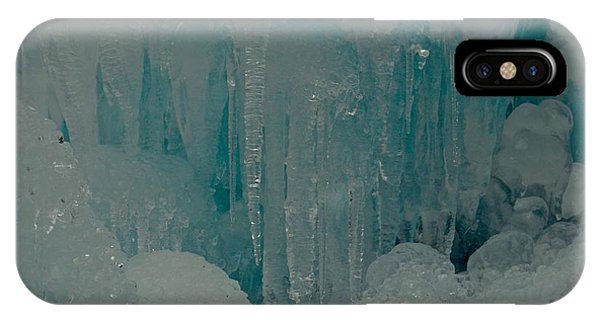 Icicle Blue Beauty IPhone Case