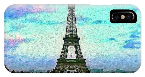 Icon Of Paris IPhone Case