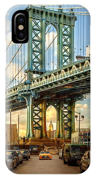 Downtown iPhone Case - Iconic Manhattan by Az Jackson