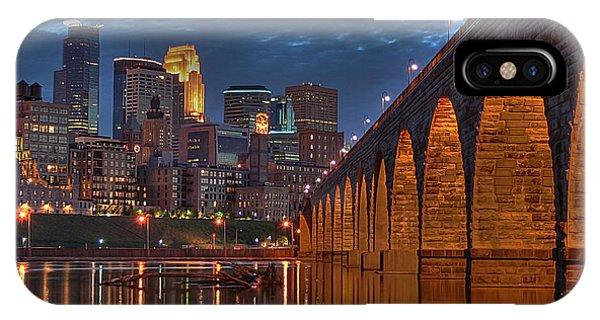 Iconic Minneapolis Stone Arch Bridge IPhone Case