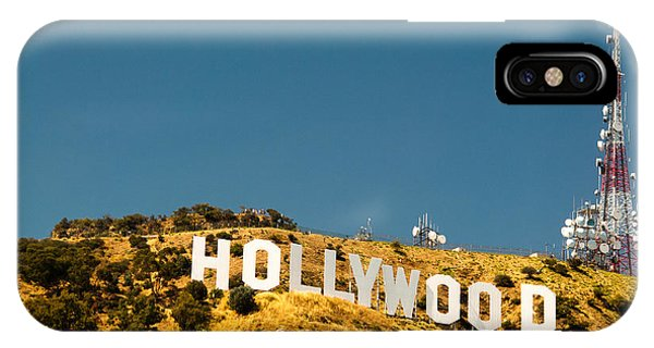 Iconic Shot - Beachwood Canyon IPhone Case