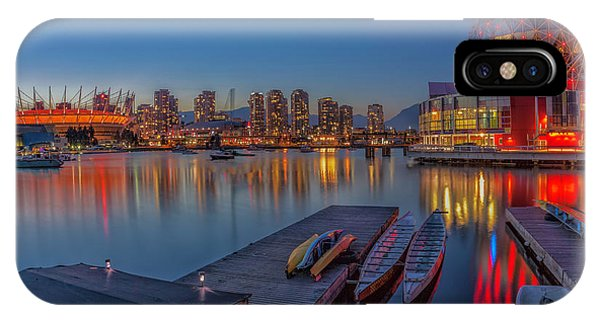 Iconic Vancouver IPhone Case