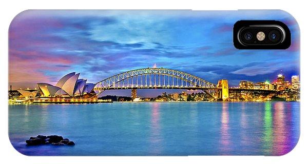 Australia iPhone Case - Icons Of Sydney Harbour by Az Jackson