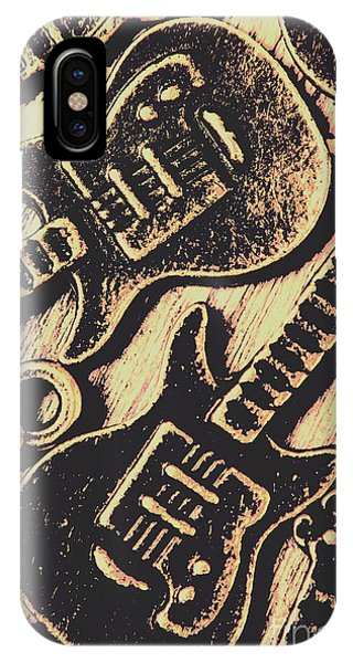 Rock And Roll Art iPhone Case - Icons Of Vintage Music by Jorgo Photography - Wall Art Gallery