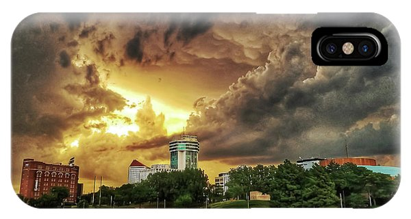 Ict Storm - From Smrt-phn L IPhone Case