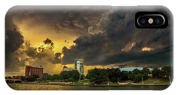 ict Storm - High Res IPhone Case