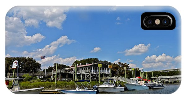Jet Ski iPhone Case - Icw Boats And Provision Co. by Heidi Peschel
