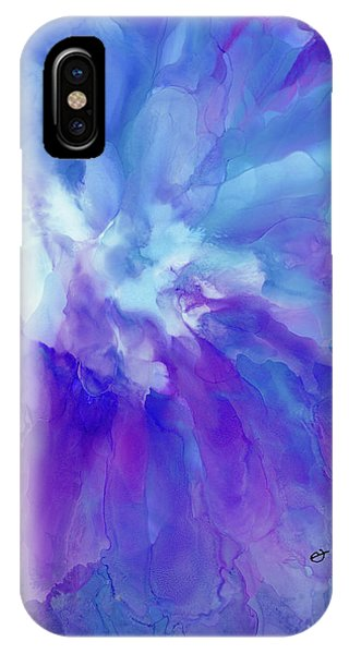 Icy Bloom IPhone Case