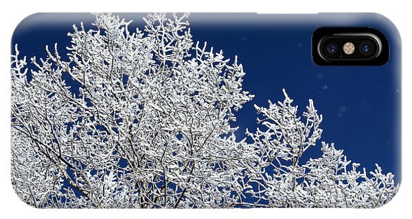 Icy Brilliance IPhone Case