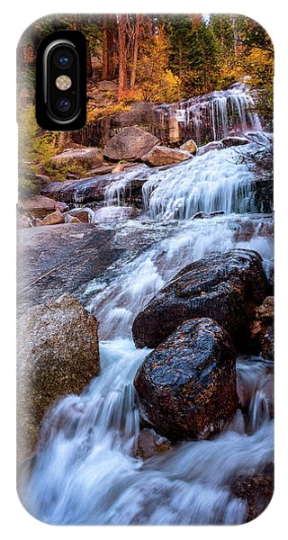 Icy Cascade Waterfalls IPhone Case