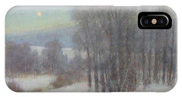 Icy Evening IPhone Case