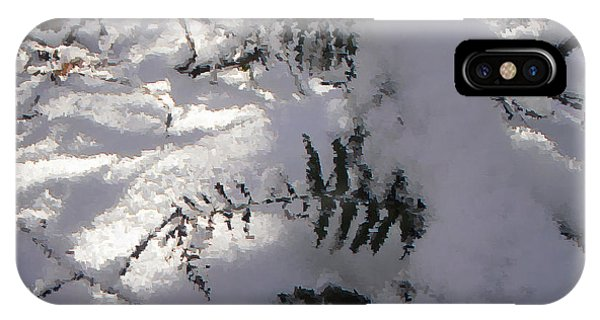 Icy Fern IPhone Case