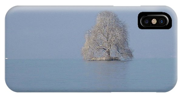 Icy Isolation IPhone Case