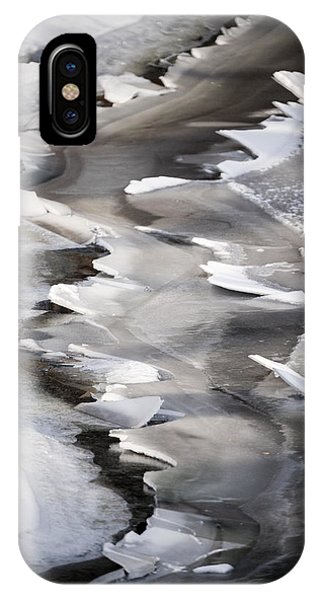 Icy Shoreline IPhone Case