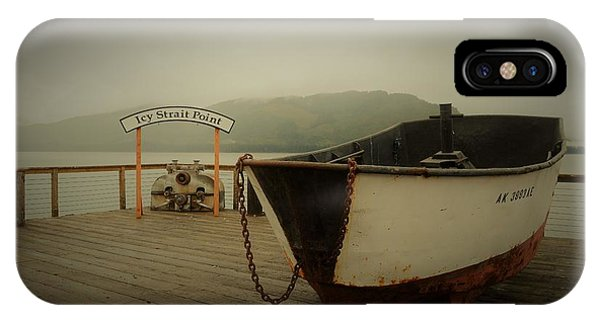 Icy Strait Point Boat IPhone Case