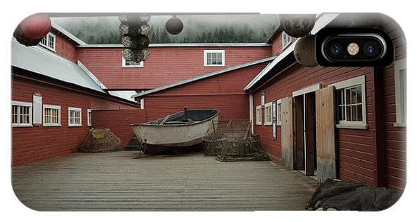 Icy Strait Point Cannery Museum IPhone Case