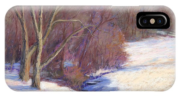 Icy Stream IPhone Case