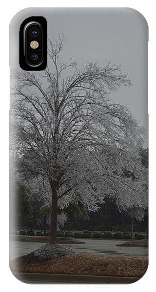 Icy Tree IPhone Case