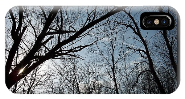 Icy Winter Sky IPhone Case