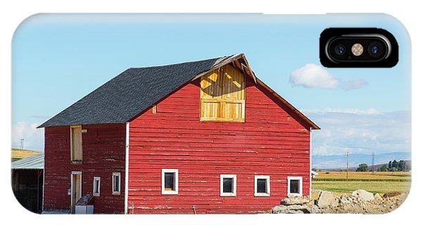 Idaho Barn IPhone Case
