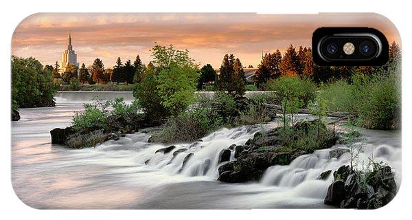 Idaho Falls IPhone Case