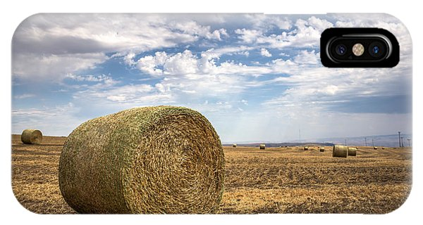Idaho Hay Bale IPhone Case
