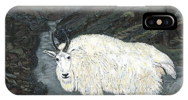 Idaho Mountain Goat IPhone Case