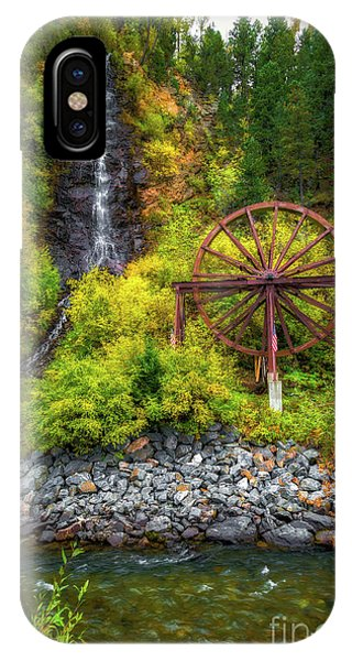 Idaho Springs Water Wheel IPhone Case