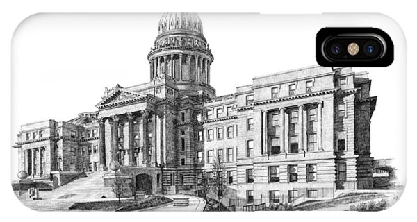 Capitol Building iPhone Case - Idaho State Capitol by Andrew Aagard