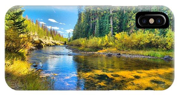Idaho Stream 2 IPhone Case