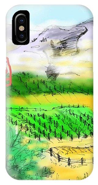 Idaho Vineyard IPhone Case