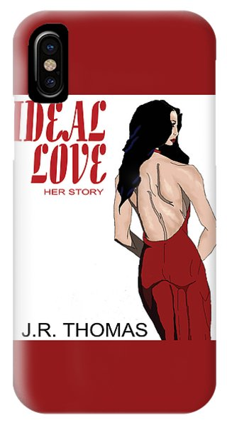 IPhone Case featuring the digital art Ideal Love Book Cover by Jayvon Thomas