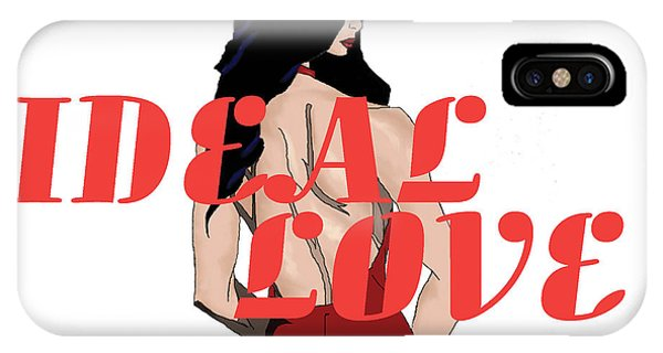 IPhone Case featuring the digital art Ideal Love Cover by Jayvon Thomas