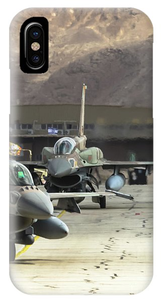 Idf/af F-16i Sufa - Blue Flag 2017 IPhone Case