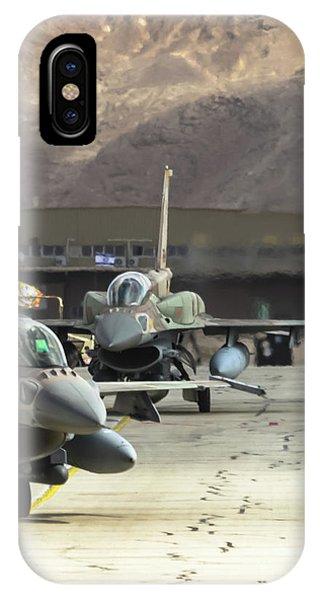 Idf/af F-16i Sufa - Blue Flag 2017 IPhone Case