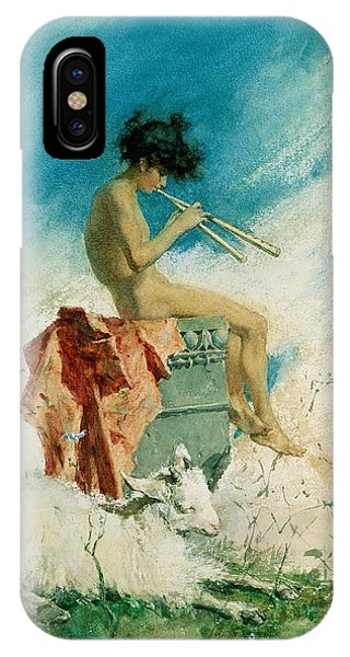 Youthful iPhone Case - Idyll by Mariano Fortuny y Marsal