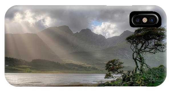 IPhone Case featuring the photograph Nature Landscape Isle Of Sky Scotland by Michalakis Ppalis