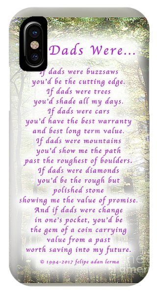 If Dads Were Greeting Card And Poster IPhone Case