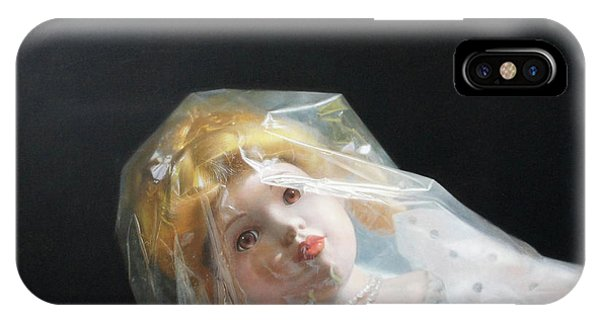Fantasy Realistic Still Life iPhone Case - If Life Is Like The First Moment by Weiyu Xia