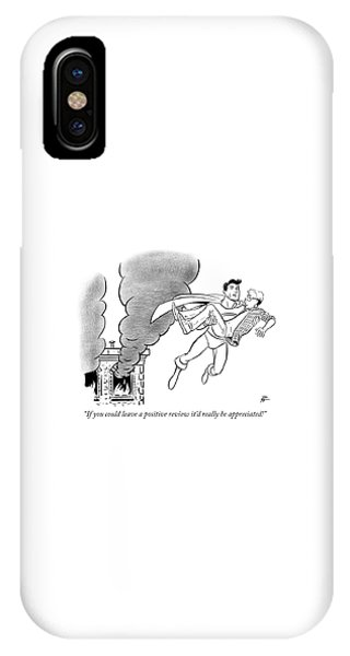 If You Could Leave A Positive Review IPhone Case