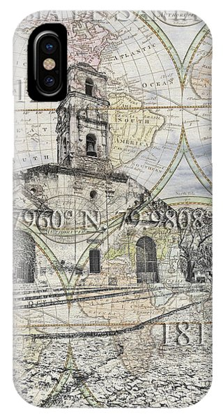 Iglesia De Santa Ana Passport IPhone Case